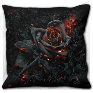 vankúš SPIRAL BURNT ROSE