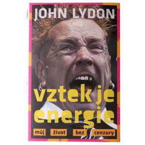 kniha zlosť je energia - John Lydon - VOL029