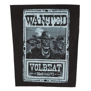 nášivka VOLBEAT - WANTED - ROCK OFF - BP0997