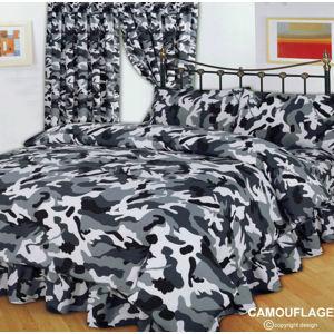obliečky CAMOUFLAGE BLACK - ALG002