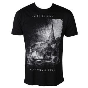 tričko BLACK CRAFT Faith is Dead Čierna XXL