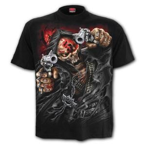 tričko metal SPIRAL Five Finger Death Punch Five Finger Death Punch Čierna 3XL