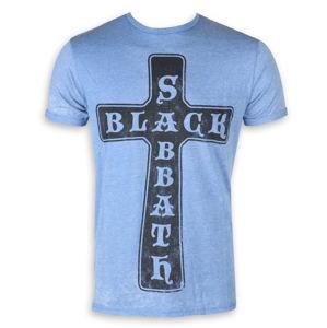 ROCK OFF Black Sabbath Burnout Mid Blue Čierna