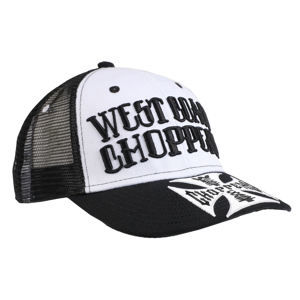 šiltovka WEST COAST CHOPPERS - CLUTCH LOGO ROUND BILL - Black - WCCPT139ZW