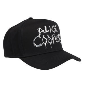 šiltovka Alice Cooper - Sonic Sliver Dripping Logo - ROCK OFF - ACSSCAP01B