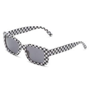 okuliare slnečné VANS - MN KEECH - Black/White Che - VN0A3HZZHU01