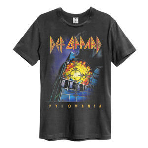 AMPLIFIED Def Leppard PYROMANIA Čierna