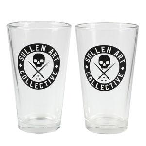 poháre (sada 2ks) SULLEN - BOH BEER - SCA0100_CLR