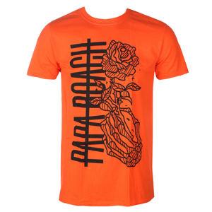 Tričko metal KINGS ROAD Papa Roach Thorns Roses Čierna