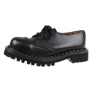 topánky STEADY´S - 3 dírkové - Black - STE/3_black - POŠKODENÉ - BH060 37
