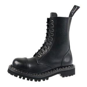 topánky STEADY´S - 10 dírkové - Black - STE/10_black - POŠKODENÉ - BH065 36