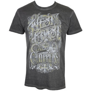 West Coast Choppers CUSTOM LOGO Čierna