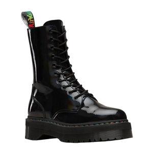 topánky kožené Dr. Martens JADON X Čierna 38