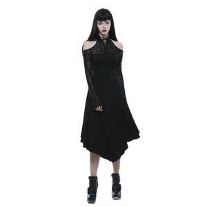 šaty dámske PUNK RAVE - Lyra Gothic - OPQ-250 BK XL-XXL