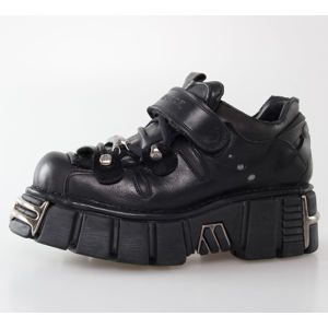 topánky NEW ROCK - Bolt Shoes (131-S1) Black - N-8-51-700-00