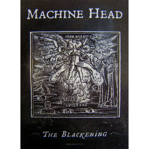 "vlajka Machine Head ""The Blackening"" - HFL 0978"