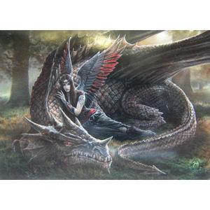 vlajka Anne Stokes - Winged Companions - HFL0993
