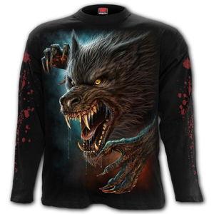tričko SPIRAL WILD MOON Čierna XXL