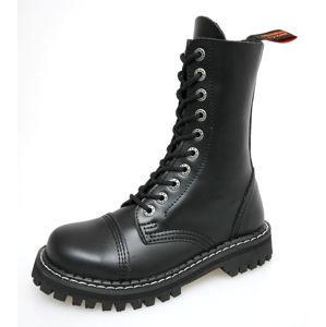 topánky kožené - - KMM - Black - 100 45