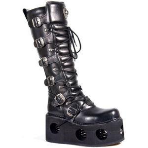 topánky kožené dámske - 272-S2 - NEW ROCK - M.272-S2