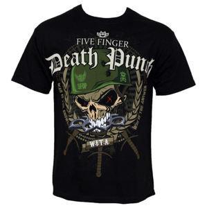 Tričko metal ROCK OFF Five Finger Death Punch Warhead Čierna M