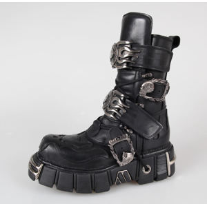 topánky kožené dámske - 148-S1 - NEW ROCK - M.148-S1 45