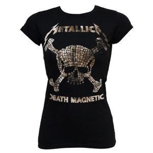 BRAVADO Metallica Mosaic Skulls Čierna
