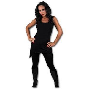 šaty dámske SPIRAL - Gothbotm Vest Viscose - PL234 XL
