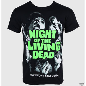 PLASTIC HEAD Night of the Living Dead Čierna L