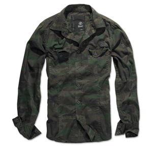košele pánska Brandit - Men Shirt Slim - Woodland - 4005/10košile pánska BRANDIT - Men Shirt Slim -