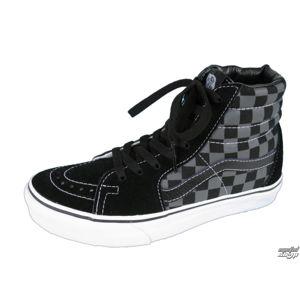 tenisky vysoké dámske - Sk8-Hi - VANS - Black/Pewter Checkerboard 36,5