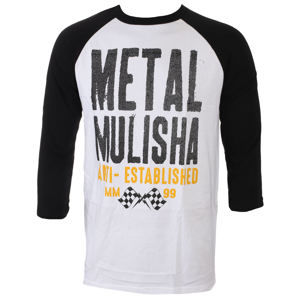 METAL MULISHA FIRST RAGLAN Čierna L