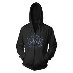 mikina s kapucňou ART WORX Arch Enemy Bat Čierna XXL