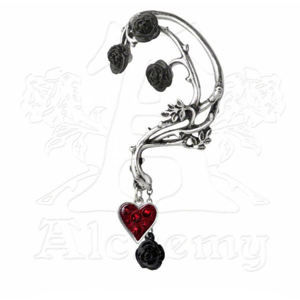 náušnice ALCHEMY GOTHIC - Bed of Blood Roses Ear Wrap - E329