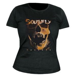 NUCLEAR BLAST Soulfly Savages Čierna sivá hnedá