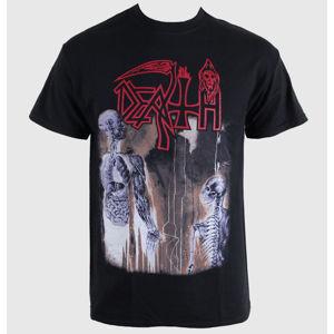 Tričko metal RAZAMATAZ Death Human Čierna sivá hnedá M