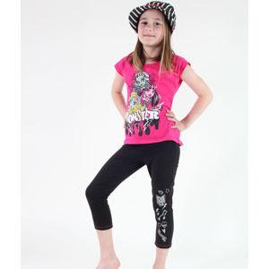 TV MANIA Monster High Monster High Čierna ružová