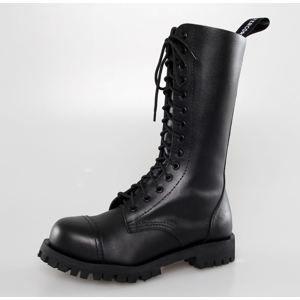 topánky kožené ALTERCORE Black Čierna 41
