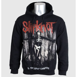 mikina s kapucňou pánske Slipknot - 5 The Gray Chapter - BRAVADO EU - SKHD14MB