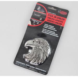 dekorácia (na auto) LETHAL THREAT - Eagle Head Emblem (Eagle Beak Facing Left) - LT88675