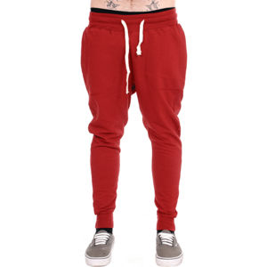 nohavice unisex (tepláky) 3RDAND56th - Carrot Fit Jogger - Claret - JM1008 S