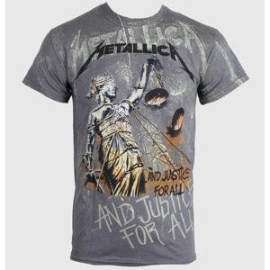 NNM Metallica Justice Neon All sivá viacfarebná