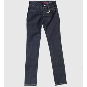 nohavice jeans HELL BUNNY Blue 28