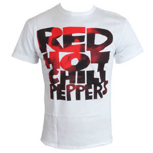 AMPLIFIED Red Hot Chili Peppers Type Face Fill biela