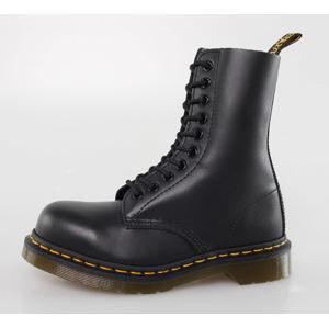 topánky DR. MARTENS - 10 dierkové - 1919 - BLACK FINE HAIRCEL L