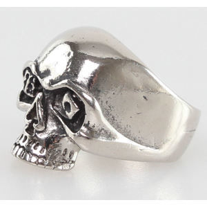 prsteň SKULL - PSY115