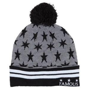 čiapka FAMOUS STARS & STRAPS - Lunar Pom - Grey - FH03150030