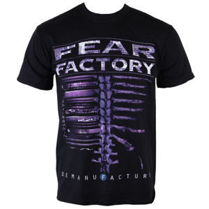 tričko metal PLASTIC HEAD Fear Factory Demanfacture Čierna XL