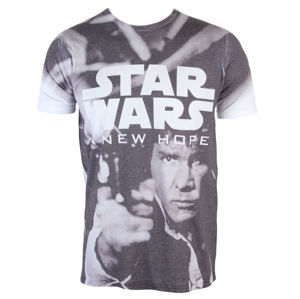 PLASTIC HEAD Star Wars A New Hope (Dye Sub) sivá biela XL