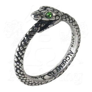 prsteň ALCHEMY GOTHIC - The Sophia Serpent - R206 T